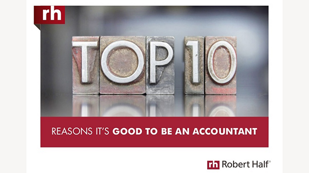 Top 10 reasons it's good to be an accountant right now
