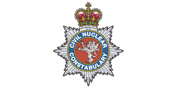 The Civil Nuclear Constabulary (CNC) logo